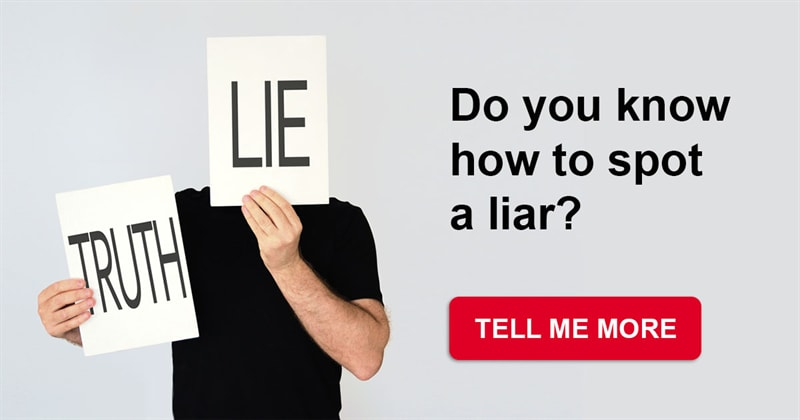 Culture Story: How to detect a liar - this is simpler than you could imagine!