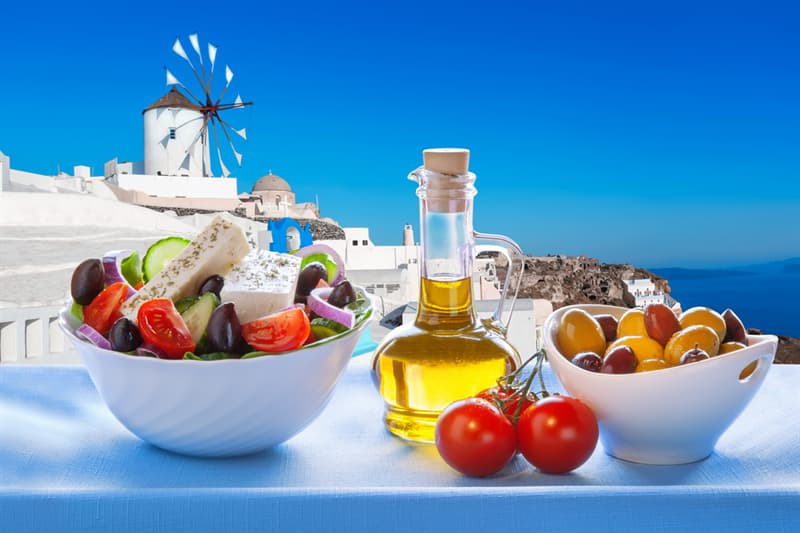 health Story: #4 Greece: Healthy nutrition
