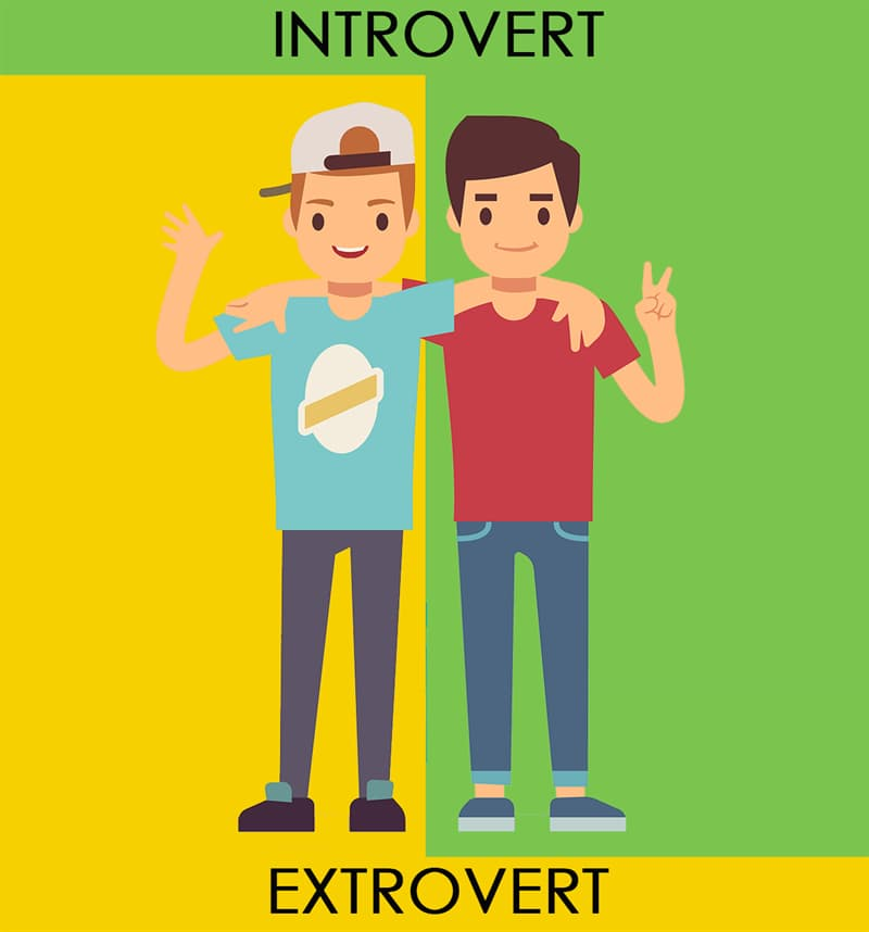 Society Story: #10 Still, introverts and extroverts can be best friends and complement each other.