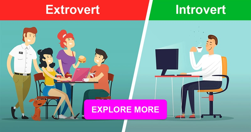 Society Story: Introverts vs. Extroverts - they really see the world differently