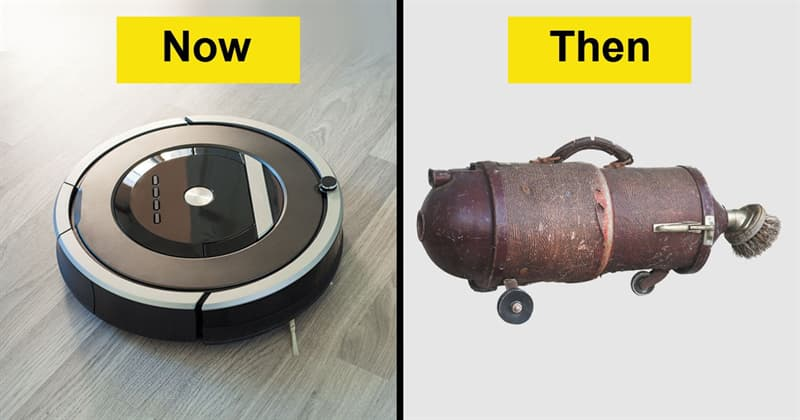 History Story: Now and then: see how our everyday objects have changed