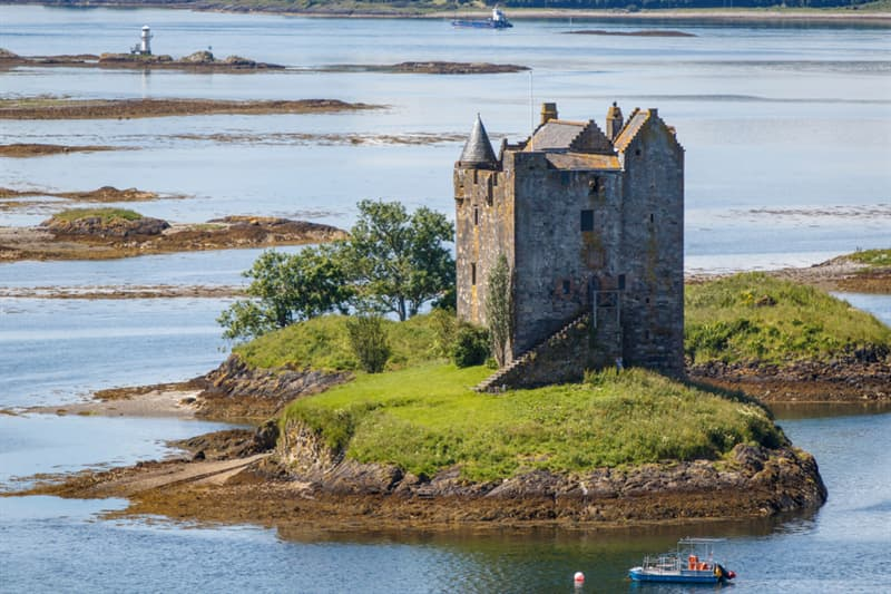 Geography Story: #10 Castle Stalker, Scotland