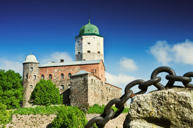Geography Story: #12 Vyborg Castle, Russia