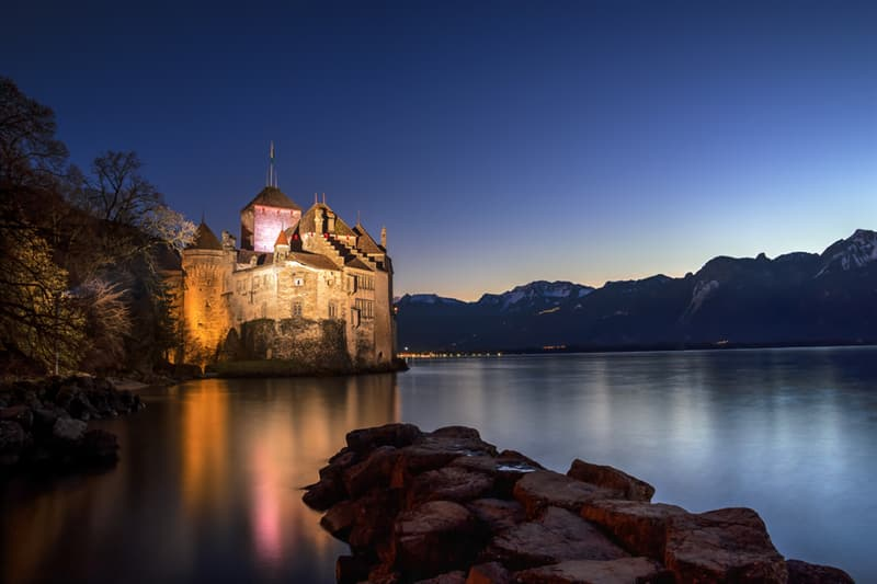 Geography Story: #6 Chillon Castle, Switzerland