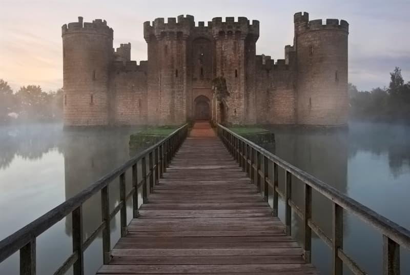 Geography Story: #8 Bodiam Castle, England