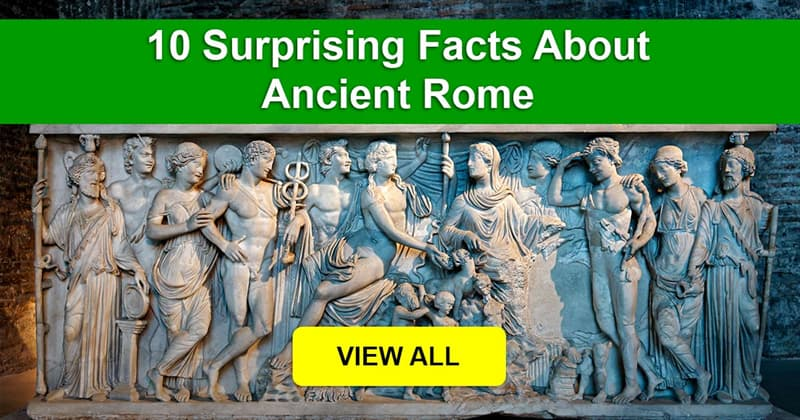 History Story: What are some shocking facts about Ancient Rome?