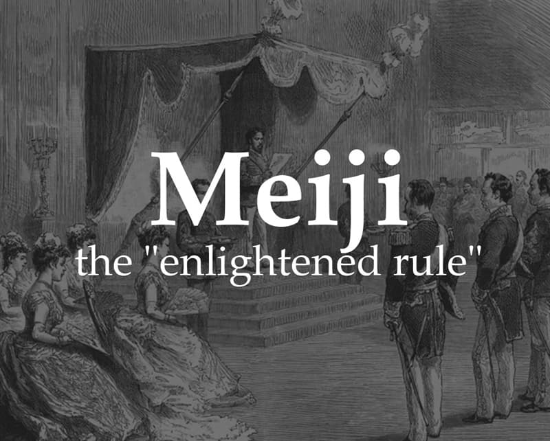 "History Story: Meiji (""enlightened rule"")"