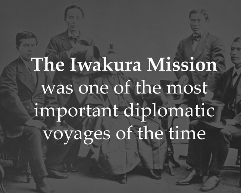 History Story: The Iwakura Mission was one of the most important diplomatic voyages of the time