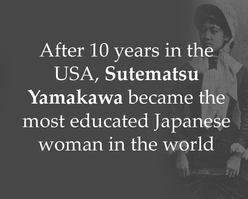 History Story: After 10 years in the USA, Sutematsu Yamakawa became the most educated Japanese woman in the world