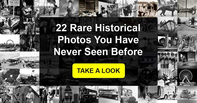 History Story: What are some rare pictures that we have never seen?