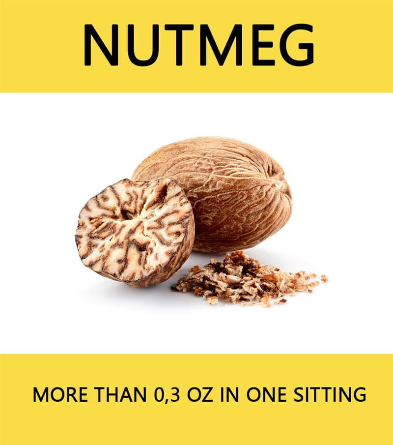 Science Story: Nutmeg - more than 0,3 oz in one sitting