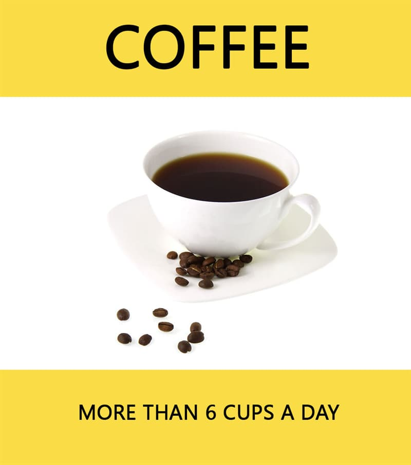 Science Story: Coffee - more than 6 cups a day