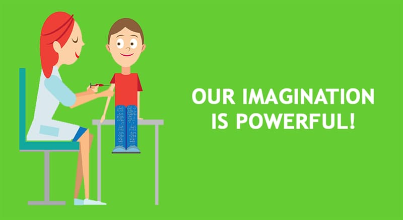 Science Story: Our imagination is powerful!