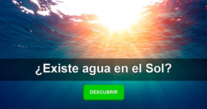 Geografía Historia: ¿Existe agua en el Sol?