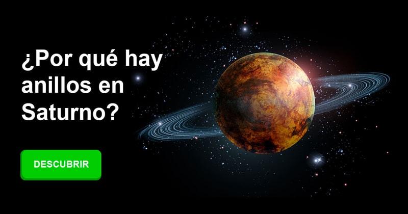Geografía Historia: ¿Por qué hay anillos en Saturno?