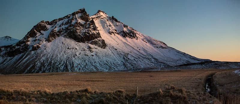 Geography Story: Vestrahorn mountain