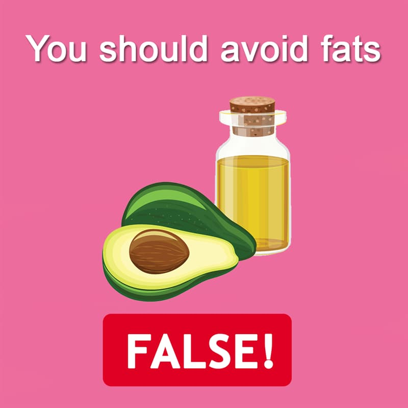 Science Story: You should avoid fats - FALSE!