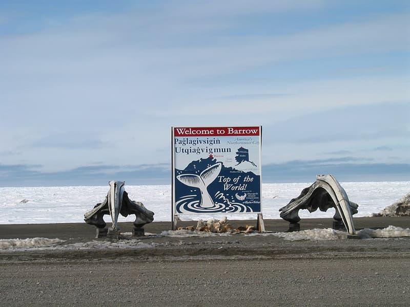 Geography Story: Barrow, Alaska -13° F