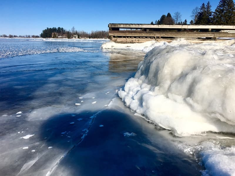 Geography Story: International Falls, Minnesota  5° F