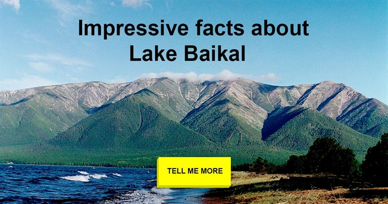 Geography Story: Lake Baikal: the most amazing lake on the planet
