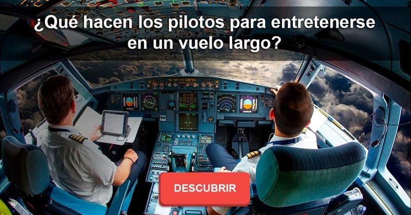 Geografía Historia: ¿Qué hacen los pilotos para entretenerse en un vuelo largo?