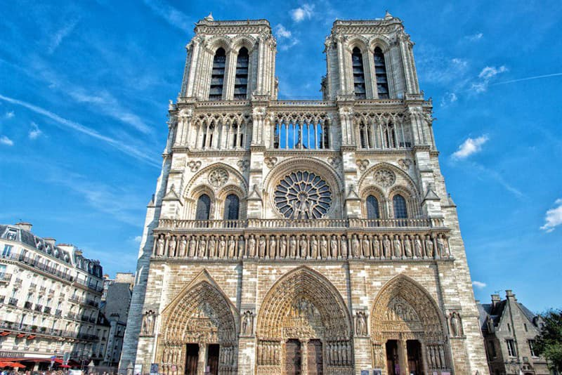 Geography Story: Interesting Facts about Notre Dame Cathedral You Probably Didn't Know #12
