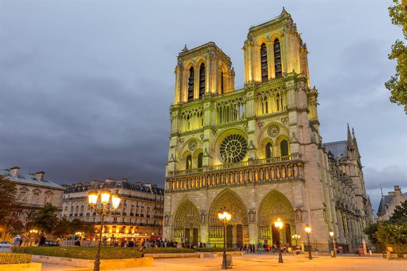 Geography Story: Interesting Facts about Notre Dame Cathedral You Probably Didn't Know #6
