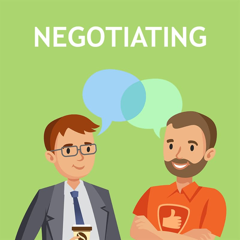 Science Story: Negotiating