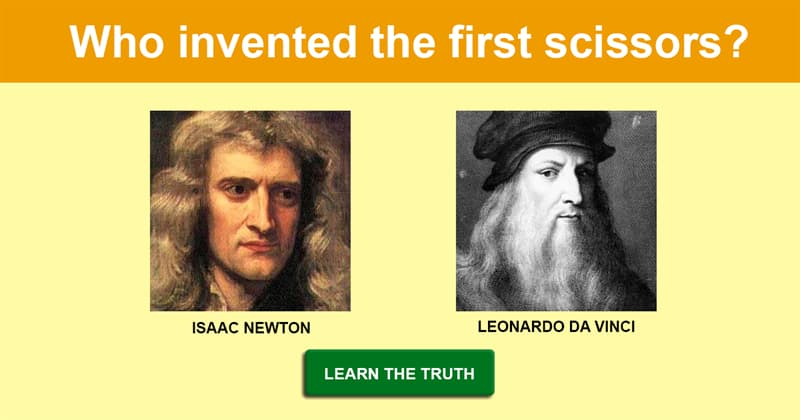 Science Story: 7 common things that were made by famous geniuses
