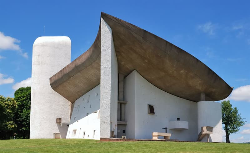 Geography Story: #2 Notre Dame du Haut, Ronchamp, France