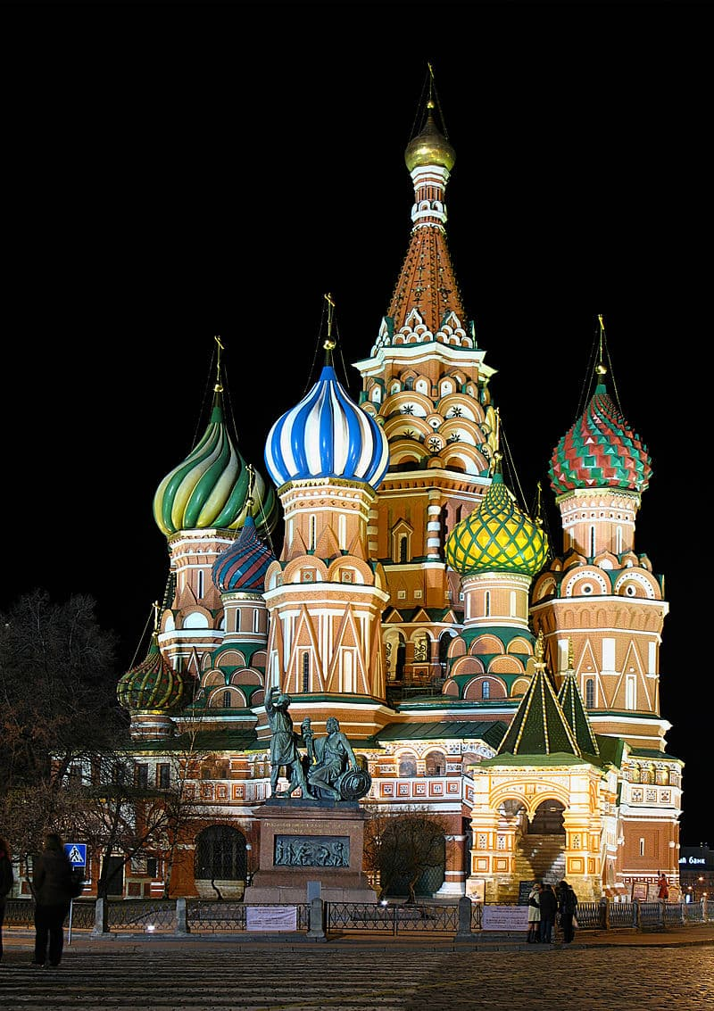 Geography Story: #5 Saint Basil's Cathedral, Moscow, Russia