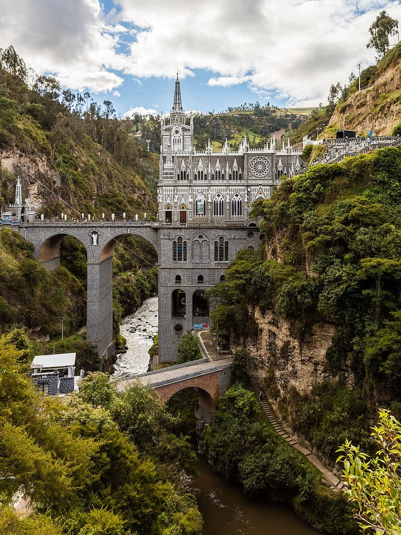 Geography Story: #6 Las Lajas Sanctuary, Ipiales, Nariño, Colombia
