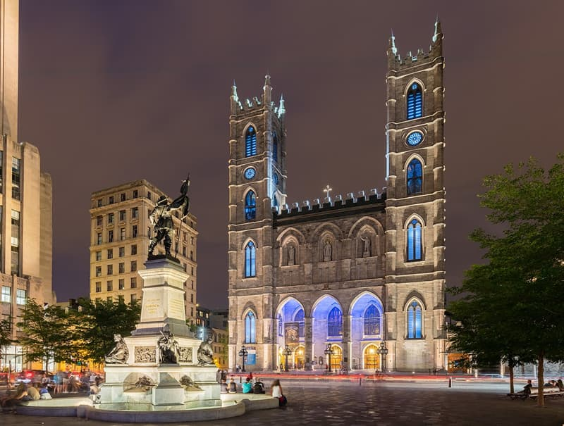 Geography Story: #8 Notre-Dame Basilica, Montreal, Canada
