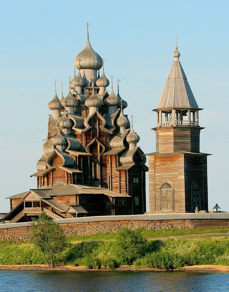 Geography Story: #9 The Church of the Transfiguration, Kizhi island, Russia