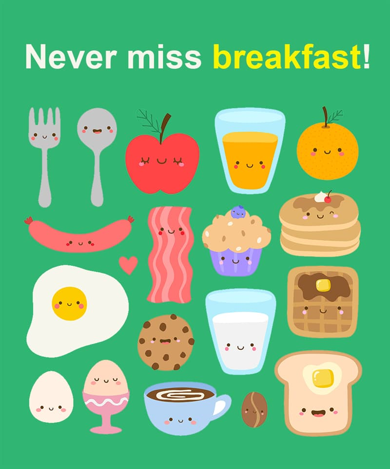 Science Story: Never miss breakfast!