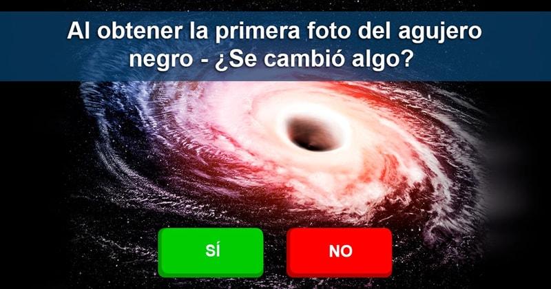Сiencia Historia: Ahora que ya tenemos la primera foto de un agujero negro, ¿qué dudas se han disipado para sus estudiadores y cuales otras surgieron a partir de ello?
