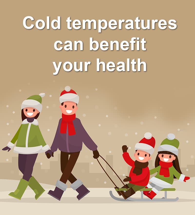 Science Story: Cold temperatures can benefit your health