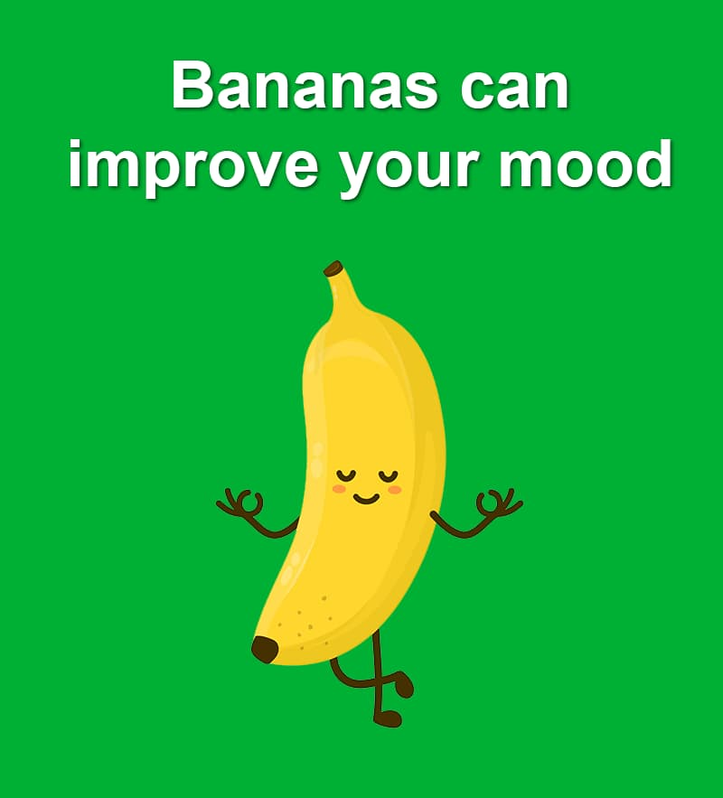 Science Story: Bananas can improve your mood