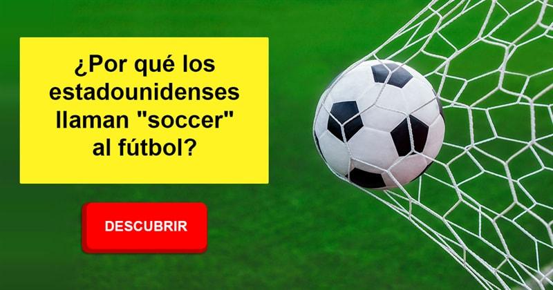 """Cultura Historia: ¿Por qué los estadounidenses llaman """"soccer"""" al fútbol?"""