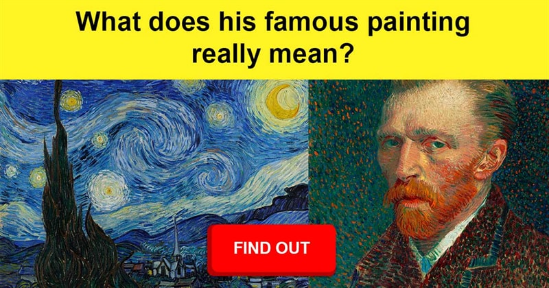 Science Story: Van Gogh's mystery - What is really depicted in his most famous painting?