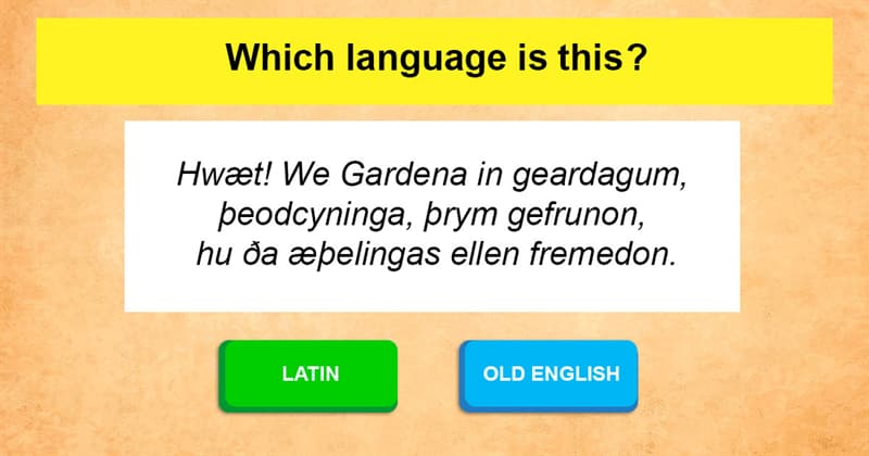 Culture Story: If the origin of most languages is Latin, what is the origin of Latin?