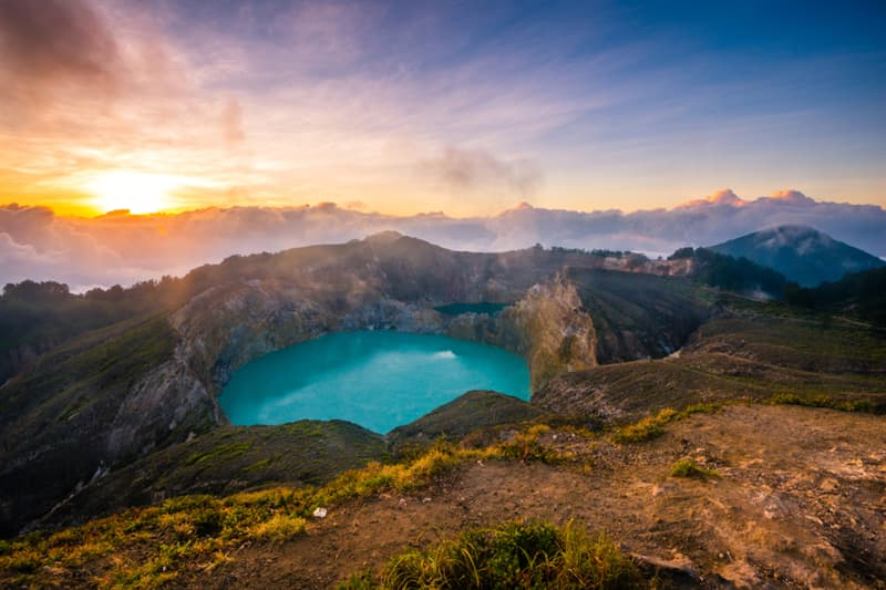 Geography Story: #11 Kelimutu crater lakes, Indonesia