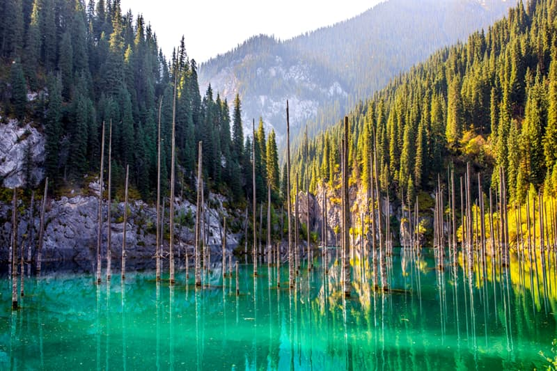 Geography Story: #12 Lake Kaindy, Kazakhstan