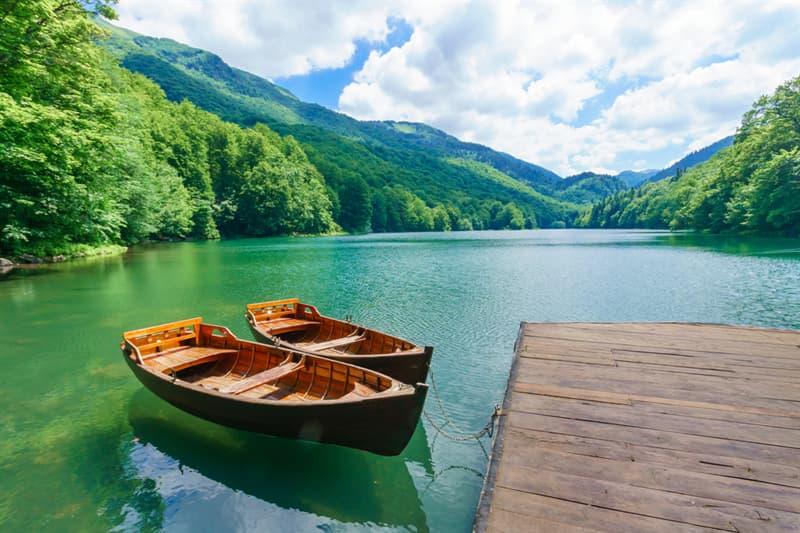 Geography Story: #4 Lake Biograd, Montenegro