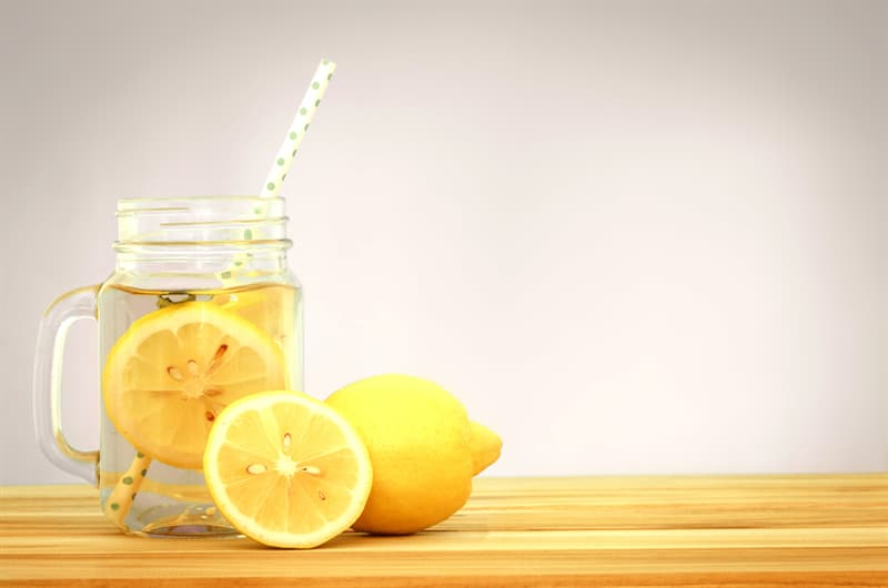 health Story: #1 Lemon water for weight loss