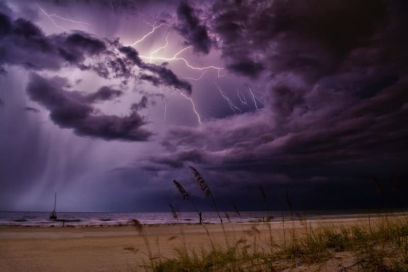 Science Story: #5 Lightning approaches the Earth at a speed of 60,000 km (37,282 ml) per second.