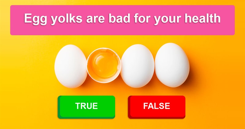 Science Story: Test your knowledge of your own body: which of these health facts are false?