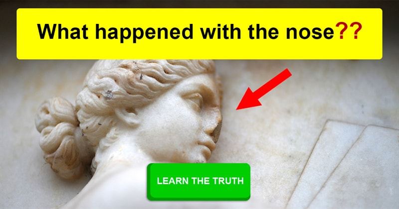 Culture Story: Why have the noses been knocked off so many ancient sculptures?