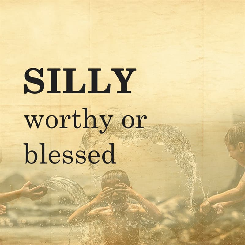 Science Story: SILLY: worthy or blessed