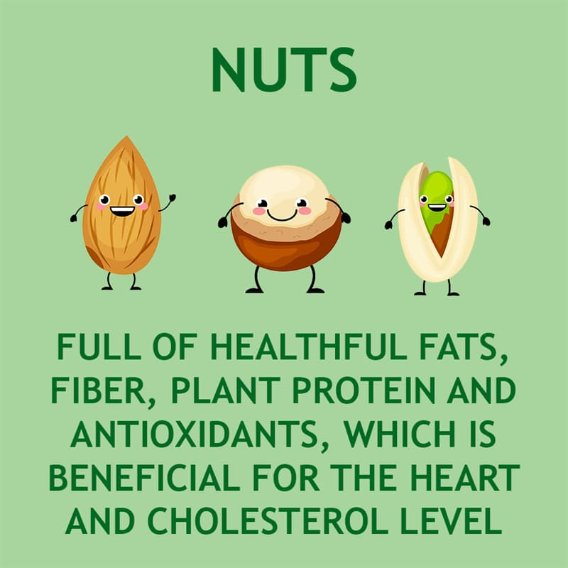 Science Story: Nuts are full of healthful fats, plant protein, fiber, antioxidants, phytosterols, and minerals